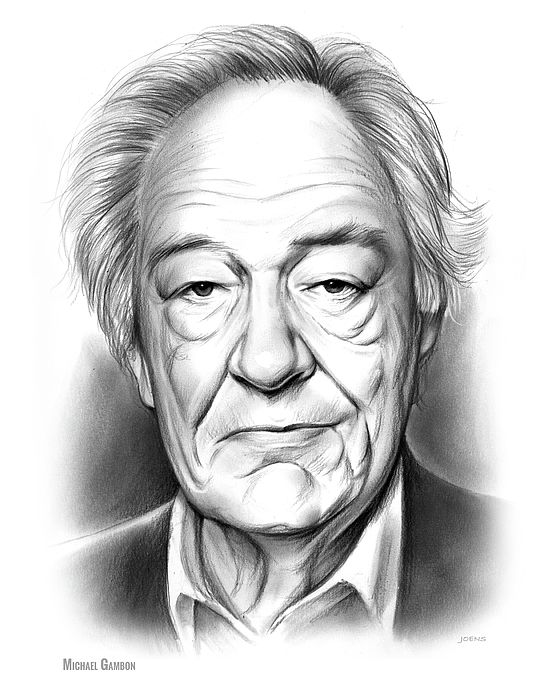 Sir Michael John Gambon CBE (born 19 October 1940) is an Irish-born English actor who has worked in theatre, television and film. Gambon has played the eponymous mystery writer protagonist in the BBC television serial The Singing Detective, Jules Maigret in the 1990s ITV serial Maigret, and Professor Albus Dumbledore in the final six Harry Potter films after the death of previous actor Richard Harris. He has won four BAFTA TV Awards and three Olivier Awards.