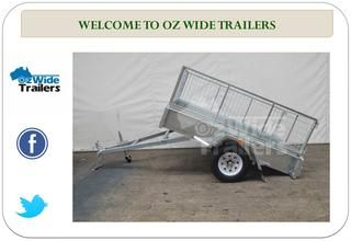 Trailers For Sale in Brisbane, Mackay  Trailers for Sale in Brisbane, Mackay and the Gold Coast. For further information about any of our box trailers for sale, please call us on 1300 570 176, send us an email, or fill your details into our online contact form and we′ll respond to you rapidly. http://www.ozwidetrailers.com.au/