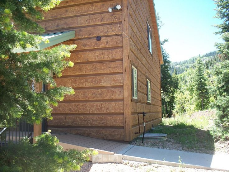 17 best images about everlog siding concrete log homes on for E log siding