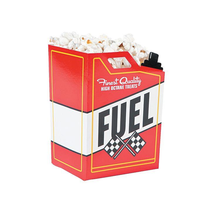Race+Car+Fuel+Can+Popcorn+Boxes+-+OrientalTrading.com $6.49 24 Piece(s)