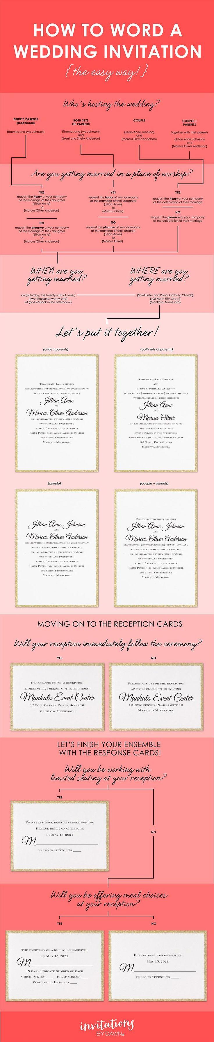 nice wedding invitations wording best photos