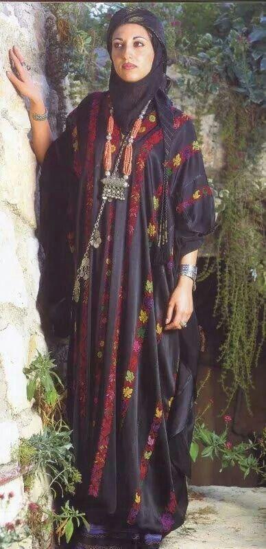Palestinian woman of Ramallah - West Bank