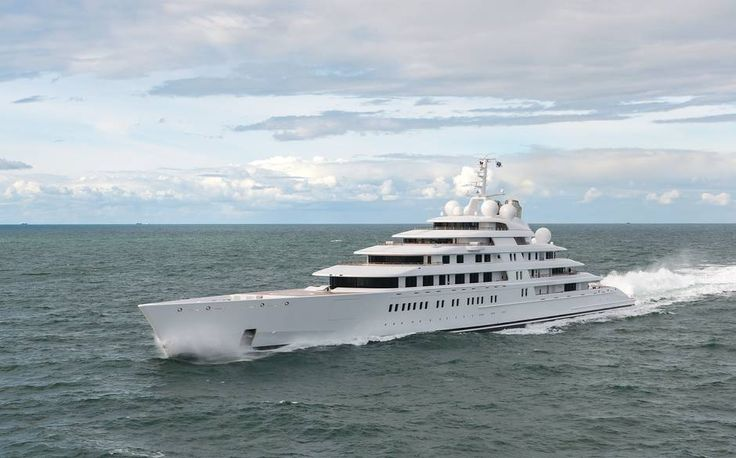 The World's Biggest Super Yachts | Telegraph - January 2014