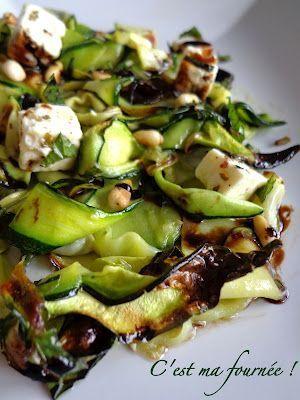 C'est ma fournée !: Salade de courgettes grillées inoubliable... ♥️ #epinglercpartager