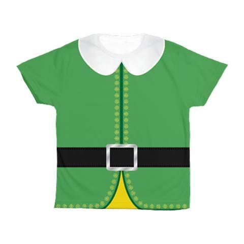 Kids Elf the Movie T-Shirt, adorable elf costume shirt. http://www.cafepress.com/+buddy_the_elf_costume_kids_all_over_print_tshirt,731020286?aid=11157433 .