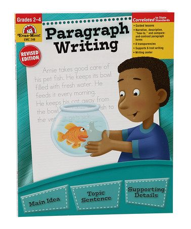 Look what I found on #zulily! Grades 2-4 Paragraph Writing Workbook #zulilyfinds