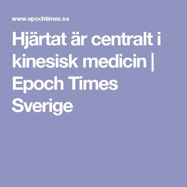 Hjärtat är centralt i kinesisk medicin | Epoch Times Sverige