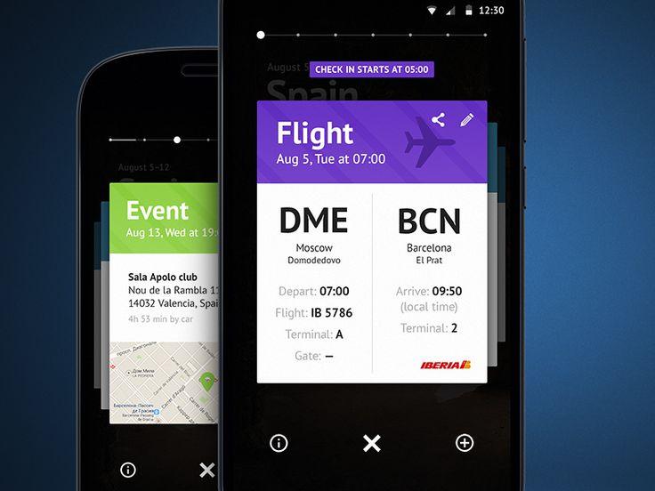 Travel app by Sergey Skip