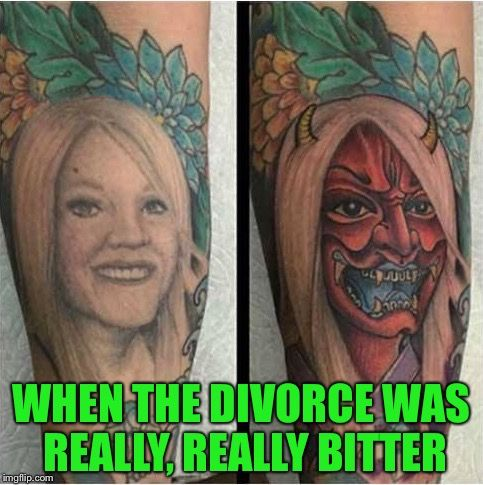 37 best tattoos art or darwin award images on pinterest for Funny tattoo memes