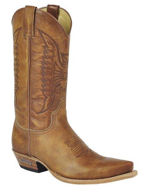 Sendra Boots 2073 Cuervo West Olimpia 023 Lavado