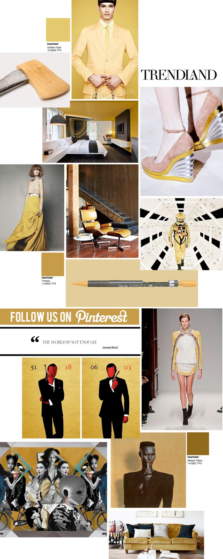 Color 2014 freesia on pinterest pantone yellow and pantone colours - Channeling Mustard