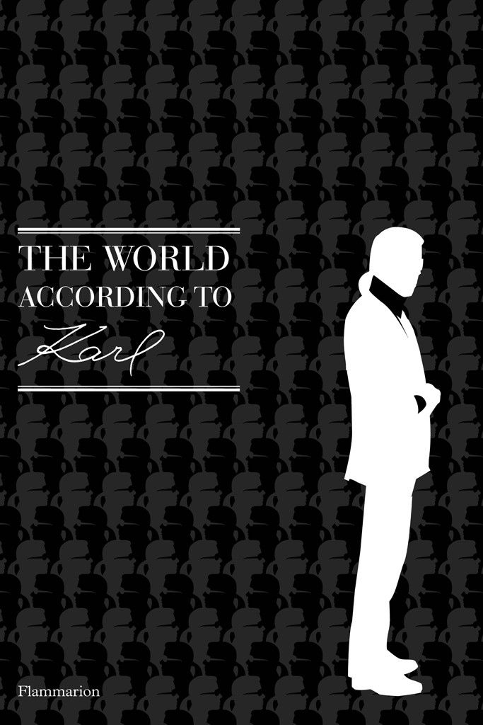 Karl Lagerfeld Book of Quotes Slated for Fall Release [Courtesy Photo]
