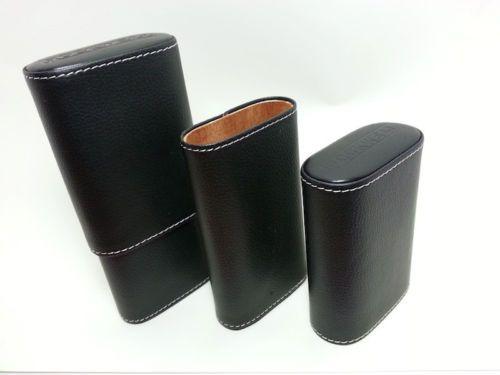 Rockwell Cigar Travel Case Leather Cedar Lined New in Box | eBay