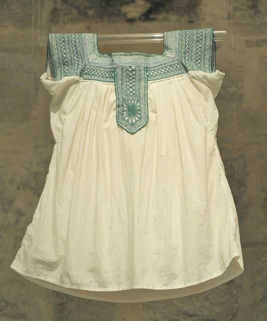 incredible embroidered Mixtec blouse from Oaxaca Mexico