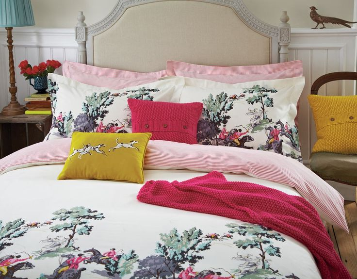 Bedding And Linens Part - 44: Traditional English Bedding | Joules Heritage Bed Linen At Bedeck Home