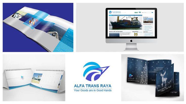 Cargo Company Profile design, Calendar design, Web design, Greeting card design by SIGNIFICAN significan-design.com