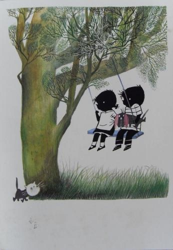 Jip en Janneke, characters by Fiep Westendorp from the books written by Annie M.G. Schmidt