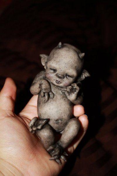 Baby Gargoyle - creepy but cute