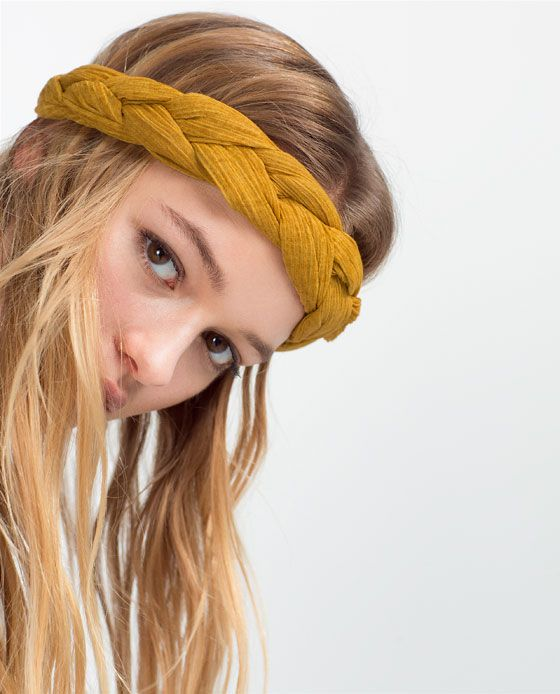 BRAIDED COTTON TURBAN HAIRBAND - Available in more colours