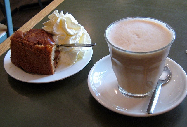 One of my favorite places in Amsterdam - Cafe Winkel. The apple cake with whipped cream is to die for.  The coffee shops are fun, too!