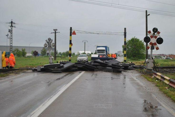 Surprize pe soselele din Timis: drum national inchis fara ca soferii sa fie preveniti din timp!