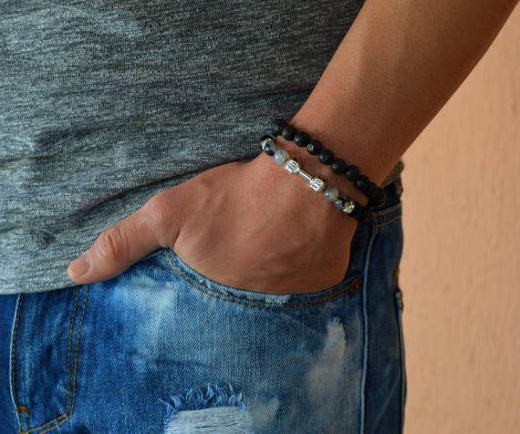 dumbbell bracele, mens bracelet, bracelet for men, spartan bracelet, gym bracelet, fitness bracelet,bodybuilding, chakra bracelet, charm