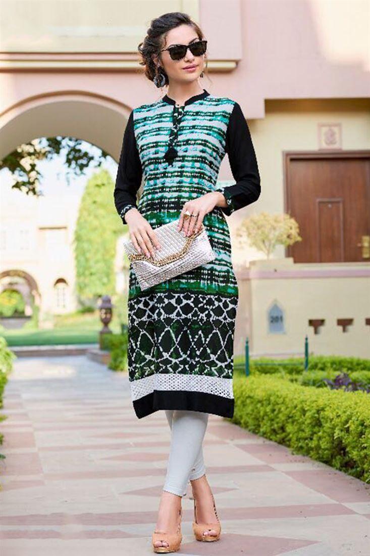 4f88bbe66ab Latest kurti Designs Trend In India 2018-2019