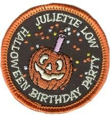 Scout Mom Shares: Brownie Girl Scout Way #2 Celebrate Juliette Low's Birthday on Halloween