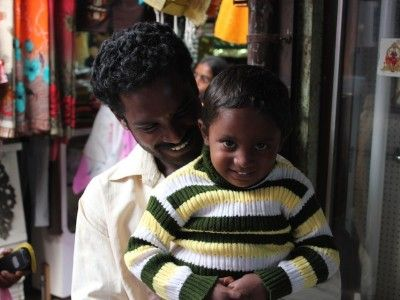 Father and Son, Palakkad, Kerala, India