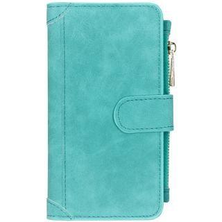Luxe Portemonnee voor de Samsung Galaxy Note 10 – Turquoise
