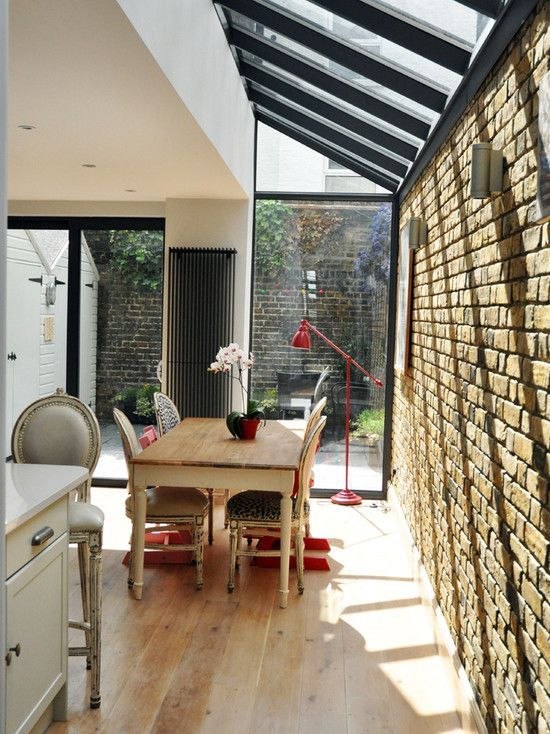 Brick Wallextension Designs Google Search Kitchen Extension House Siding Terrace House