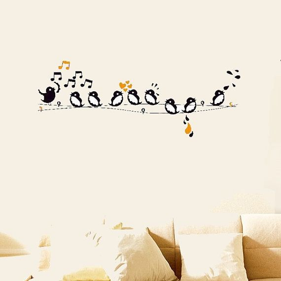 Bird Wall Decor 41 best trang tri images on pinterest | music, music decor and