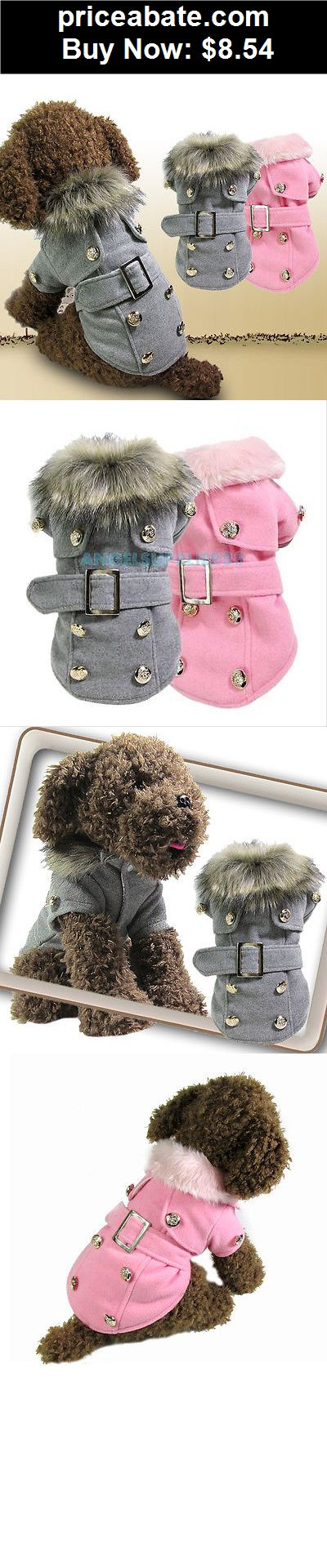 Pet Dog Cat Winter Luxury Jacket Thick Warm Coat Puppy Clothes Hoodie Apparel