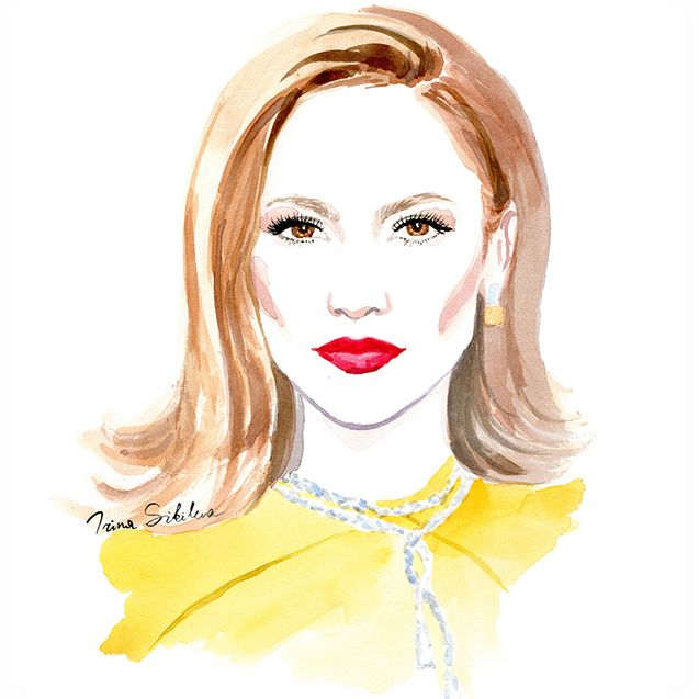 JLo, illustration by Irina Sibileva