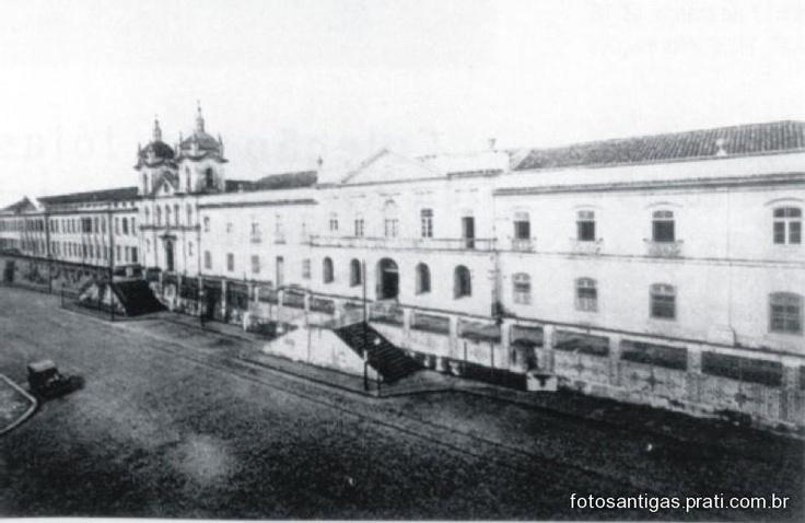 Porto Alegre, RS, Brasil - Santa Casa de Misericórdia em 1915