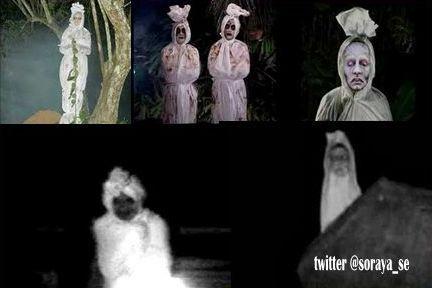 ilustrasi penampakan hantu pocong