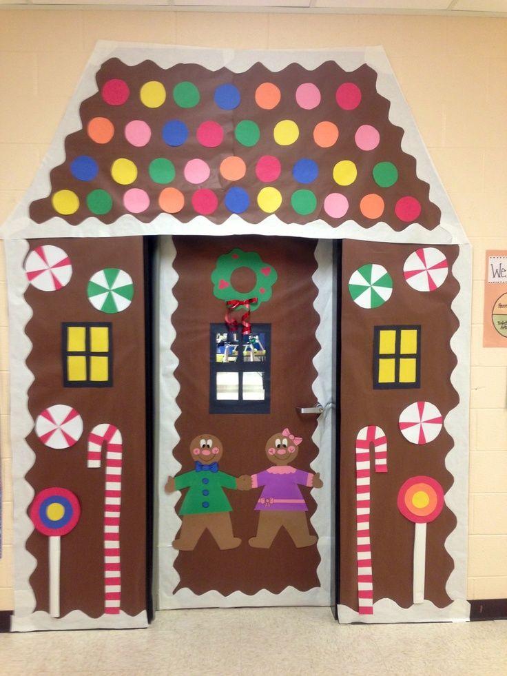 Bulletin Boards, Classroom Doors and Part 3. Christmas Door  DecorationsClassroom ...