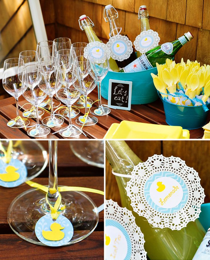 Rubber Ducky Baby Shower Ideas