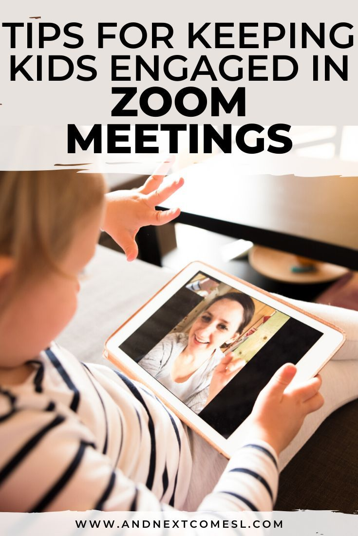 zoom class in session sign