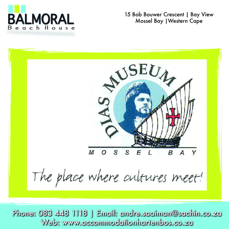 The Bartolomeu Dias Museum Complex is the second biggest provincial museum affiliated to the Western Cape Department of Cultural Affairs and Sport in South Africa. It is located at Mossel Bay. #Activities #MosselBay #Museum