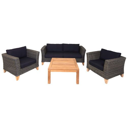 Milano 4 Piece Occasional Setting   Mitre 10 Part 74