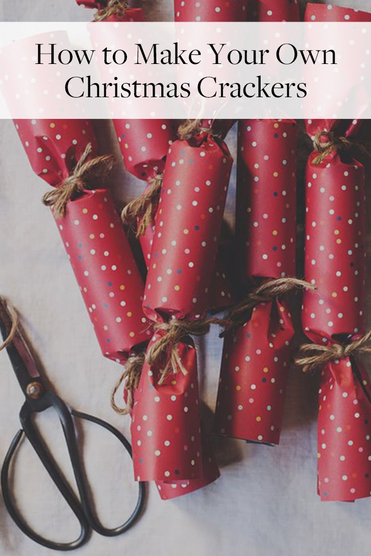 Want to add a little extra pop to your holiday party? Your guests are sure to have a blast snapping Christmas crackers filled with prizes while they wait for dessert. And the best part is, they're super easy to make and fill with goodies.