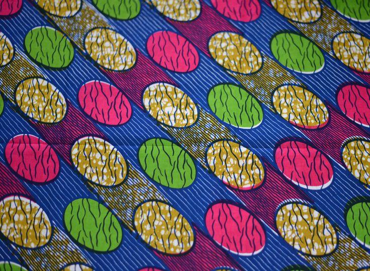 tissu wax 08 motif africain 100 coton au m tre ankara. Black Bedroom Furniture Sets. Home Design Ideas