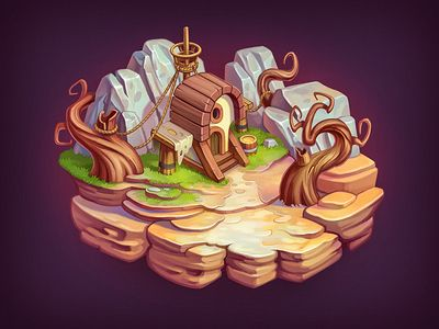 Game Level by NestStrix - Dribbble