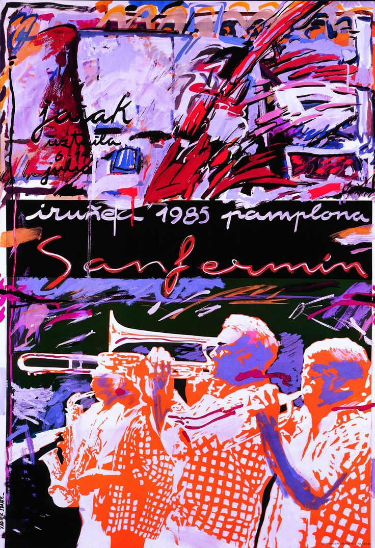 San Fermín 1985 Xabier Idoate Iribarren
