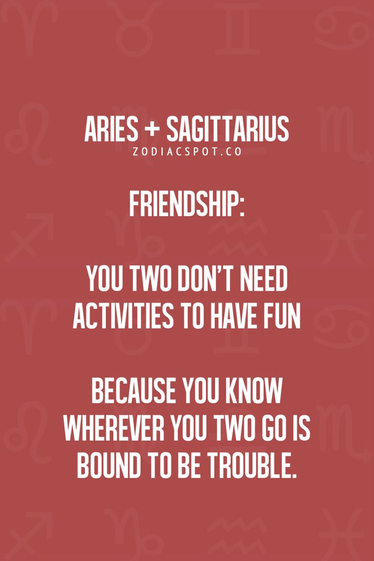 sagittarius and aries love match relationship