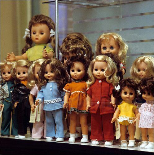 Poster Puppenfabrikation im VEB Sonneberg