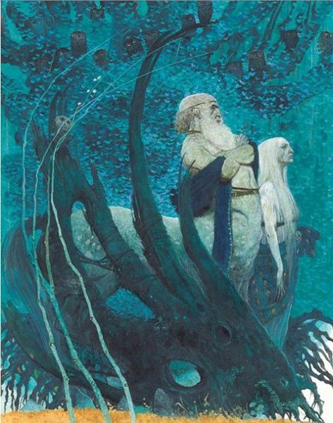 Greek Mythology Artwork by Svetlin Vassilev:
