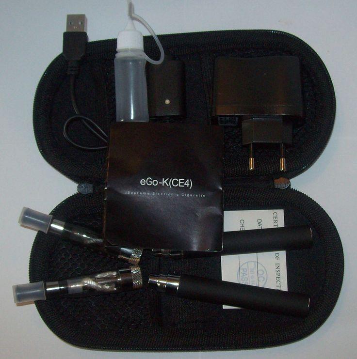 Set of 2 e-shisha eGo -K ce4+ 1100 MAH starter kit