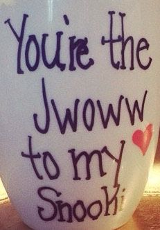 You're the Jwoww to my Snooki Mug by SnookShop on Etsy (Hand made by Nicole herself)